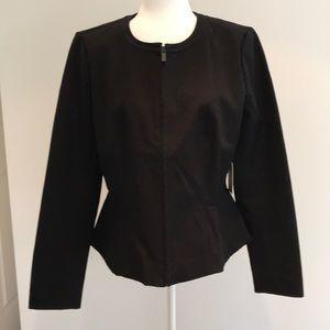 Nordstrom Halogen black peplum jacket